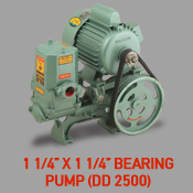1 1/4'' x 1 1/4'' Bearing Pump (DD 2500)