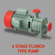 4 Stage Flunch Type Pump